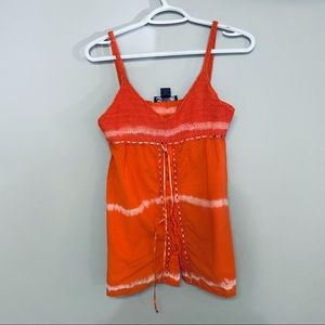 SAY WHAT orange supper top size M